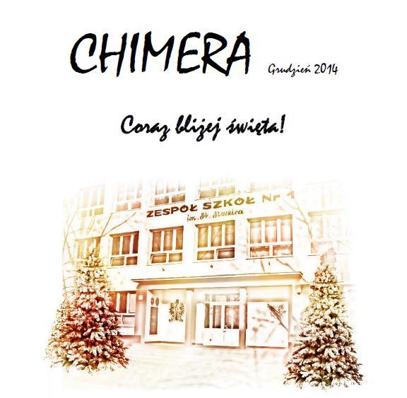 """Więcej o """"Chimera"""" grudzień 2014"""