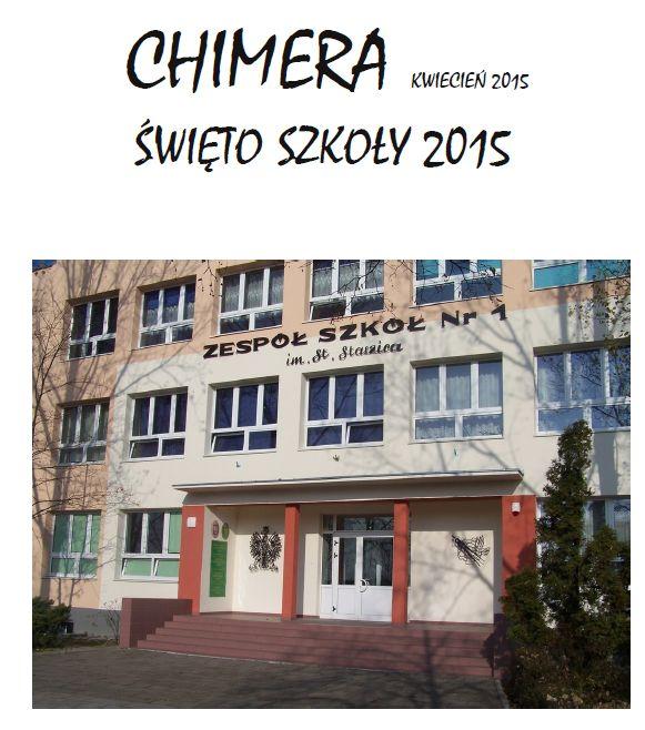 """Więcej o """"Chimera"""" kwiecień 2015"""