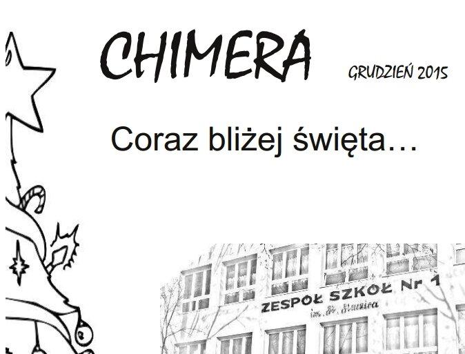 """Więcej o """"Chimera"""" grudzień 2015"""
