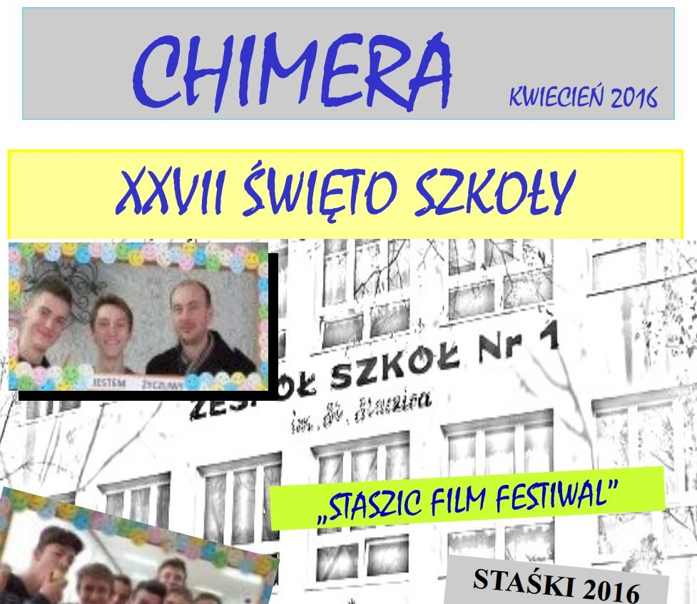 """Więcej o """"Chimera"""" kwiecień 2016"""