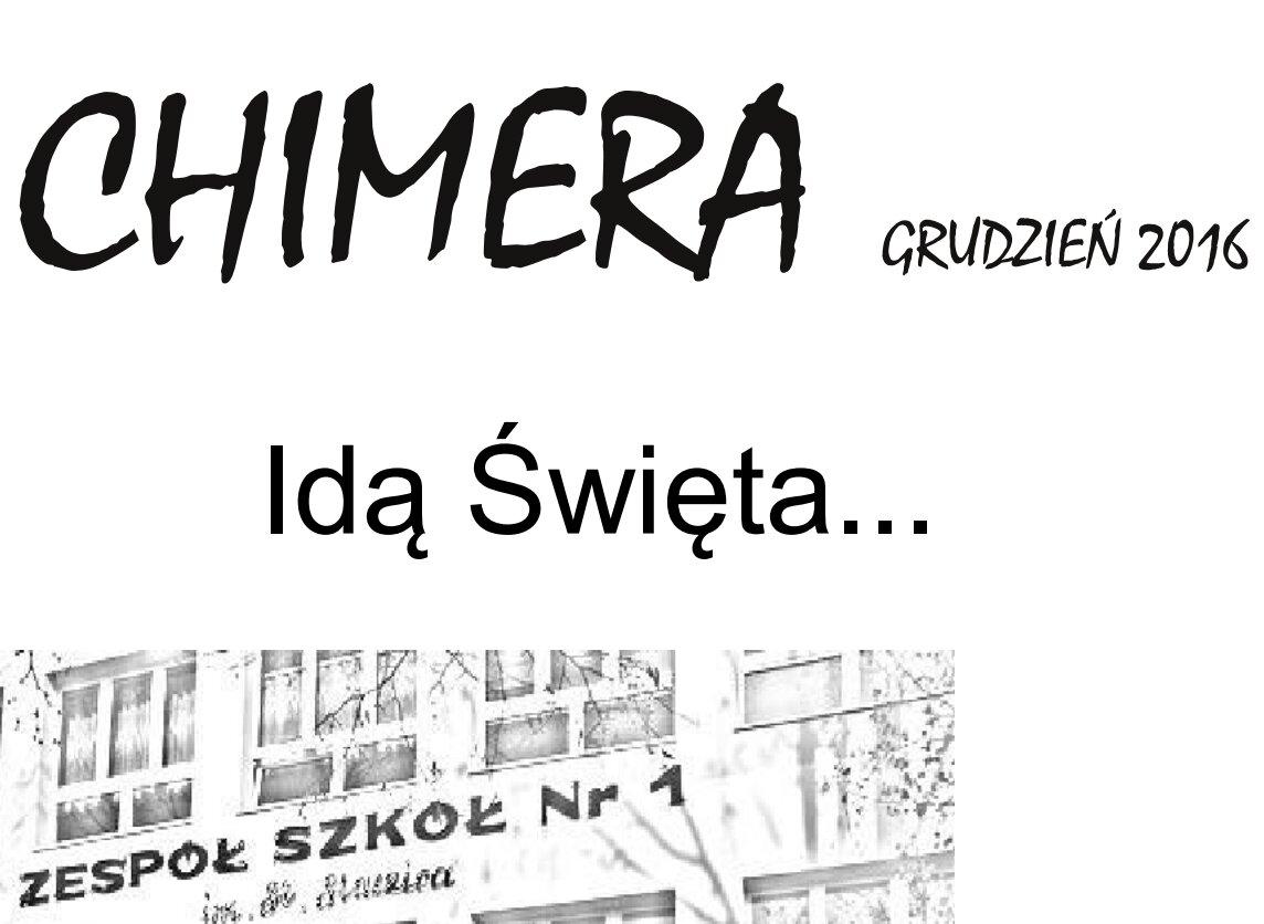 """Więcej o """"Chimera"""" grudzień 2016"""